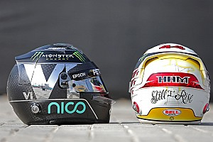 Rosberg, zaman kazanmak için kask tasarımını değiştirmiş