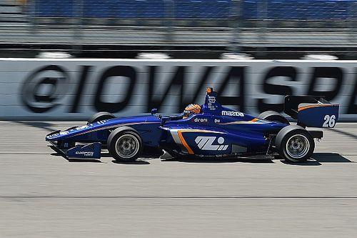 Leits domina a sus competidores y triunfa en Indy Light
