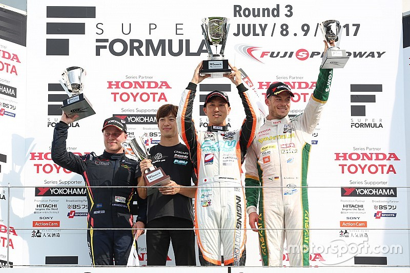 Fuji Super Formula: Ishiura wins from Rosenqvist