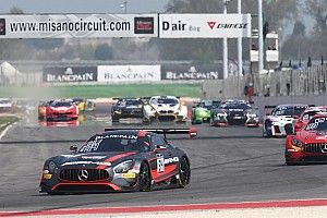 Buhk and Perera complete Misano Blancpain sweep