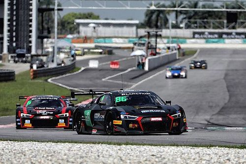 Patel wins on Blancpain Asia debut