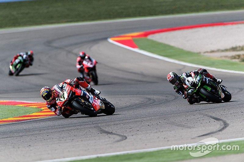 Aragon WSBK: Davies ends Rea's reign with Race 2 win