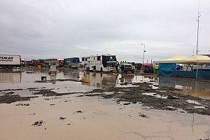 Las intensas lluvias en Bolivia golpean al Dakar
