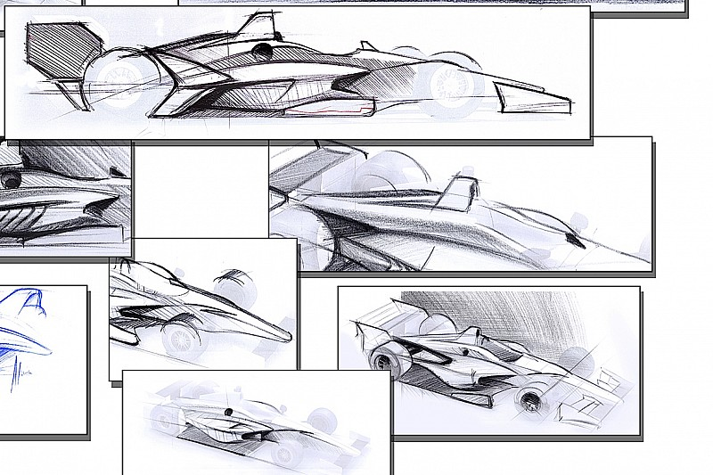 2018 IndyCar aerokit concepts unveiled