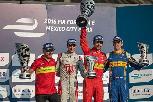 دامبروسيو يفوز بسباق المكسيك للفورمولا إي بعد استبعاد دي غراسي