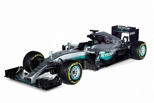 Mercedes zeigt den F1 W07 für die Formel 1 2016