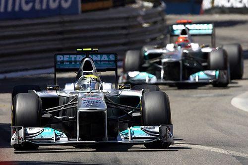 Schumacher jouant un jeu psychologique face à Rosberg? Fry en doute