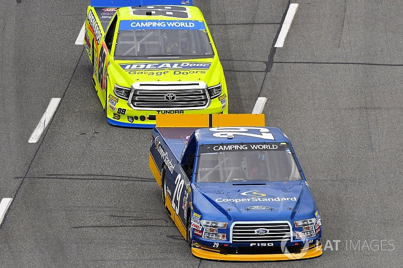Matt Crafton thrilled to be back with Ford