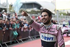"""Racing Point : """"Pérez est à l'apogée de sa carrière"""""""