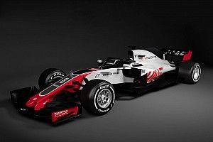 Haas se adianta e mostra imagens de carro de 2018