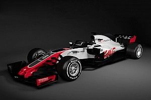 """哈斯""""抢发""""2018年F1新车图片"""