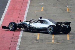 Foto pertama mobil F1 2018 Mercedes, W09