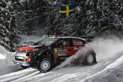Fotogallery: lo Shakedown sulla neve del Rally di Svezia WRC 2018