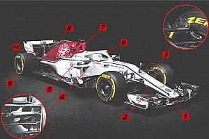 Analyse: De 10 meest opvallende punten van de Sauber C37