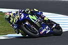 MotoGP Rossi baalt van twaalfde plek, gevoel met motor