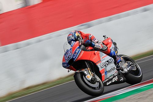 Barcelona MotoGP: Dovizioso leads Rabat in warm-up