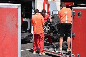 Ferrari привезла во Францию доработанную заднюю подвеску