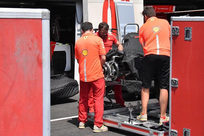 """A Ferrari kitart az """"emelt"""" futómű mellett"""