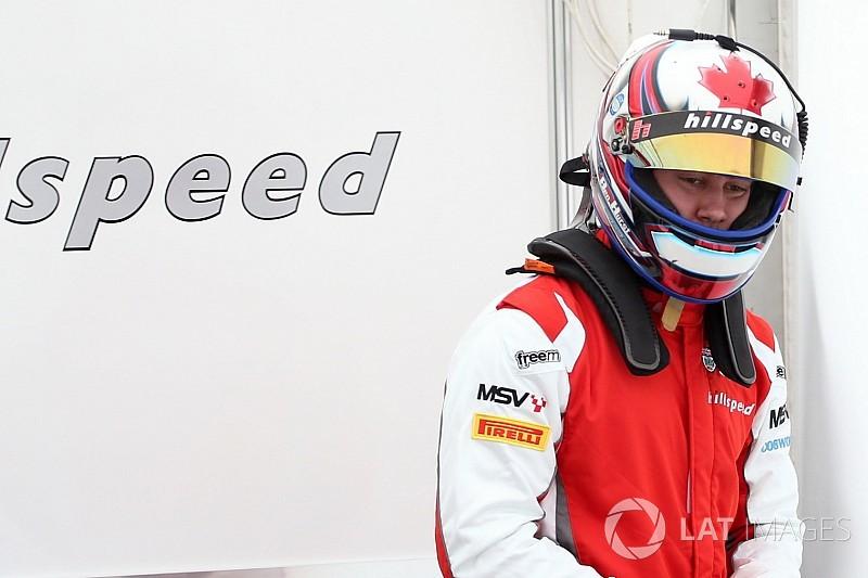 Canadian Ben Hurst discovers British F3 Championship
