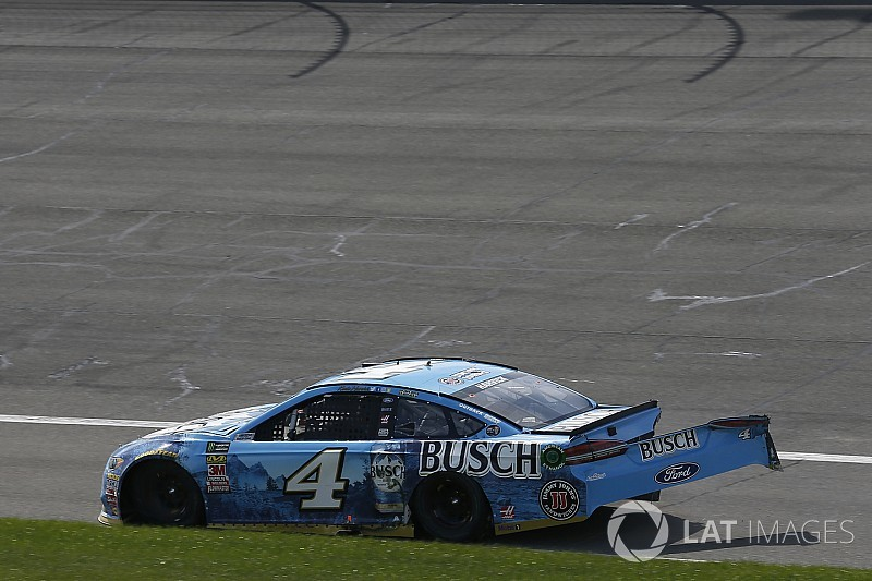 "Harvick takes blame for crash: ""Just a dumb mistake on my part"""