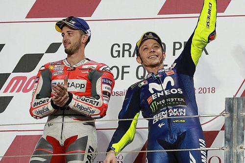 """Valentino: """"Dovizioso via dalla Ducati? Non avrebbe senso per nessuno"""""""