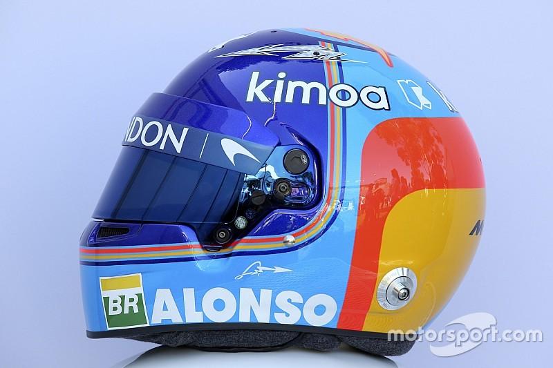 Галерея: шоломи гонщиків Формули 1 сезону-2018