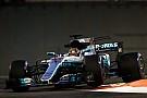 Lo mejor del viernes en Abu Dhabi fue de Hamilton