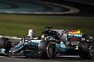 F1アブダビGP FP3速報:ハミルトン再び首位。メルセデスが1-2