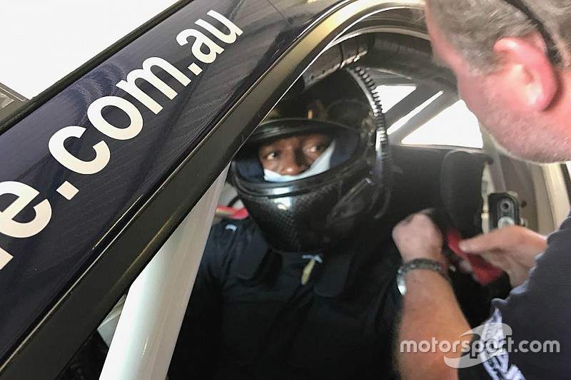Usain Bolt, Porsche Carrera Cup testini tamamladı