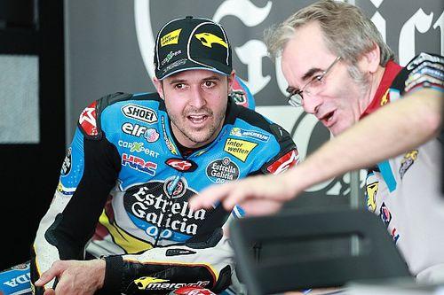 """Primo scivolone in MotoGP per Lüthi: """"Ho osato troppo in curva!"""""""