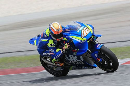 "Suzuki engine ""improved a lot"", says Rins"