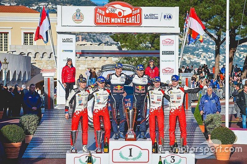 """Le double podium du Monte-Carlo, le """"plus solide"""" résultat de Toyota"""