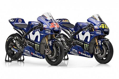 Yamaha dévoile la nouvelle moto de Rossi et Viñales pour 2018