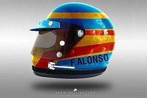 In beeld: Huidige F1-helmen in de jaren '70