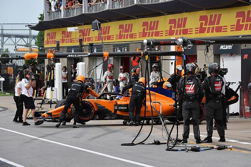 """Alonso abandonó en Canadá: """"Ojalá volvamos a la fiabilidad necesaria"""""""