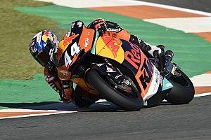 Warm-up GP Valencia: Oliveira blijft Marquez nipt voor