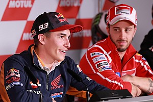 MotoGP 速報ニュース マルケス「ドヴィツィオーゾの方が勝利数が多くても、誰も気にしない」