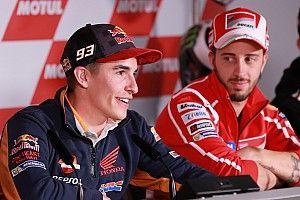 """ماركيز: """"لن يذكر أحد"""" إن فاز دوفيزيوزو بسباقات أكثر"""
