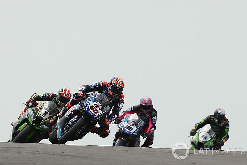 Fotogallery SBK: gli scatti più belli delle due manche di gara di Donington