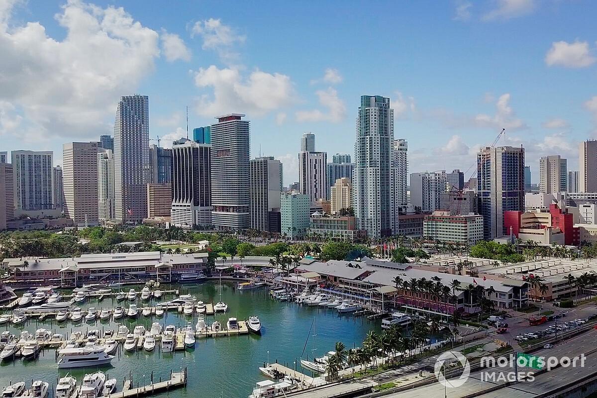 Carey: las charlas para un GP en Miami avanzan