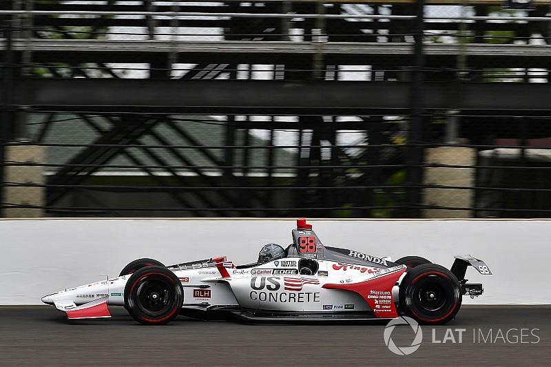 Marco Andretti se hisse en tête à Indy