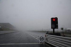 視界不良続くオートポリス。決勝日午前の走行セッション中止が決定