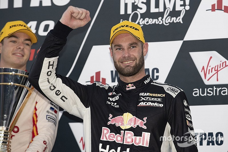 Townsville Supercars: Van Gisbergen completes Holden sweep