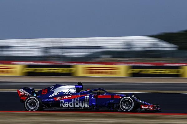 Hartley gets fresh engine parts after crash
