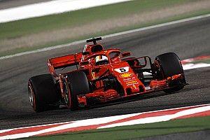 """Vettel salue une sensation """"plus saine"""" au volant de la SF71H"""