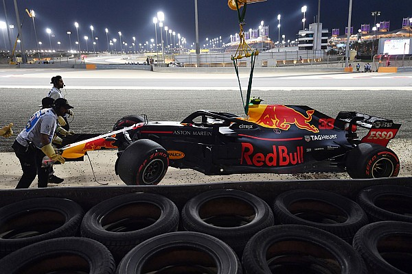 A Renault-motor ártatlan Verstappen bahreini balesetében