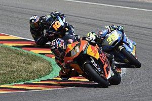 Fotogallery: prima vittoria per Binder e primo podio per Marini in Moto2 al Sachsenring
