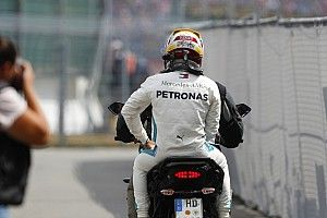 """Rosberg: """"Jamás vi a Hamilton así"""""""