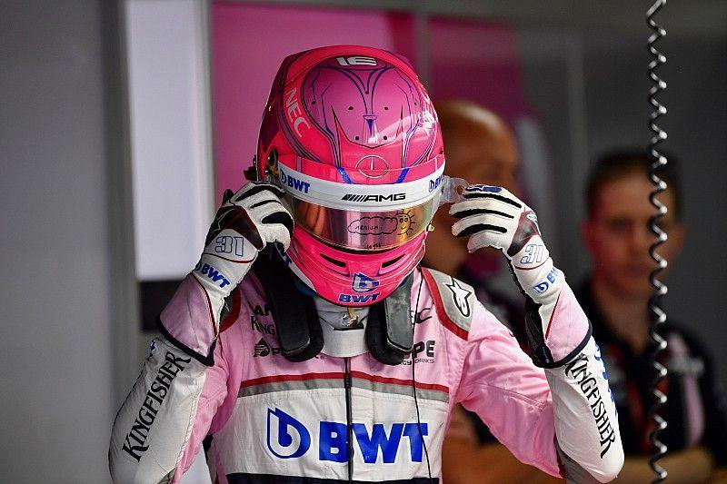 """Ocon: """"Trabajé especialmente para vencer a Pérez en clasificación"""""""