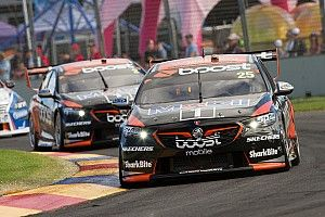 Walkinshaw drivers laugh off on-track tussle